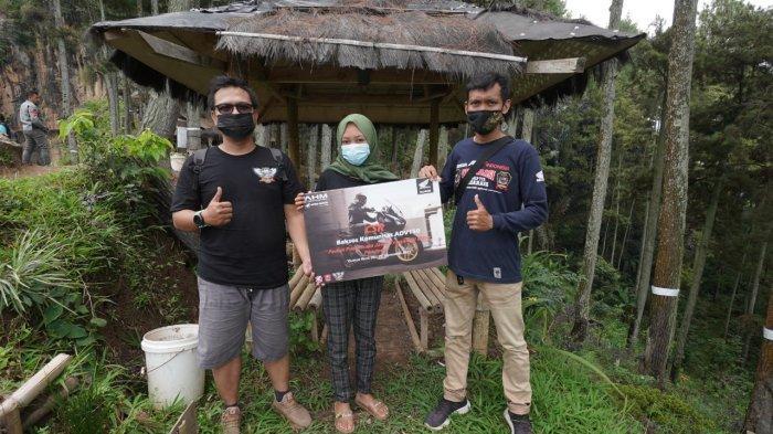 ADV150 Urban Exploride, Astra Motor Jateng & Komunitas HAI Chapter Semarang Bantu Tempat Wisata