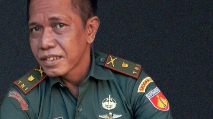 Wajah Mayor Eka Tentara Gadungan Ditangkap Anggota TNI Kodim 0715/Kendal Saat Pelaku Kondisi Mabuk