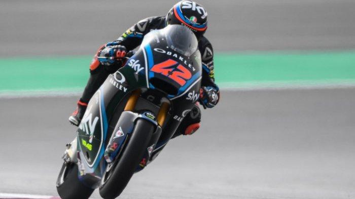 Hasil Latihan Bebas MotoGP Spanyol 2021, Bagnaia di Depan, Rossi Jauh di Belakang
