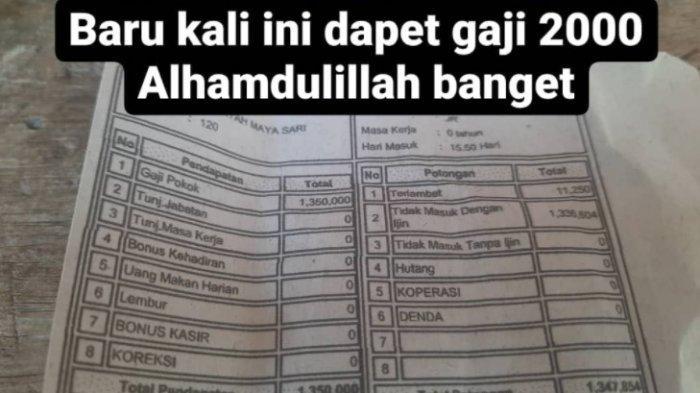 Viral Curhat Netizen Digaji RP 2 Ribu Plus Bayar Denda Karena Resign