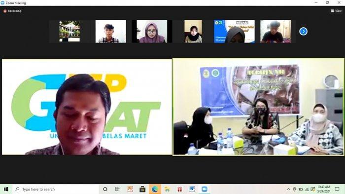 Himateta USM Semarang Gelar Webinar Produk Olahan Coklat Untuk Siswa SMA
