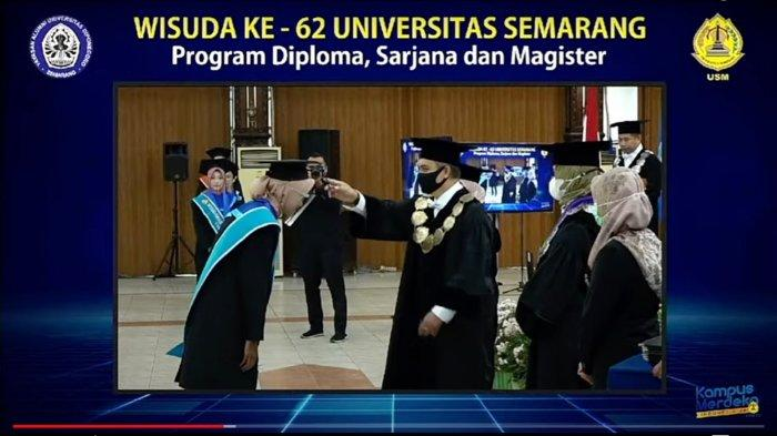 1.387 Lulusan USM Semarang Diwisuda