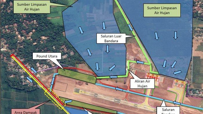 Limpasan Air di Ruas Jalan Kemangkon - Kedunglegok Purbalingga Bukan Disebabkan Proyek Bandara JBS