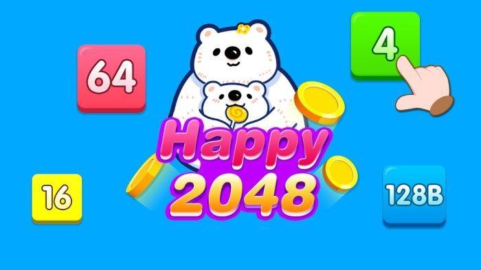 Aplikasi Penghasil Uang Happy 2048 Main Game Dapat Saldo DANA Tak Perlu Repot Daftar Akun
