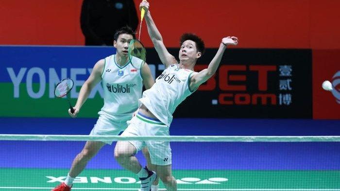 Kevin Sanjaya Minions Pebulutangkis Indonesia Terpapar Corona, Gagal ke Thailand Open 2021