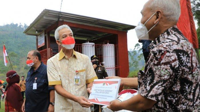 Gubernur Ganjar Pranowo Ingin Banyak Desa di Jateng yang Mandiri Energi