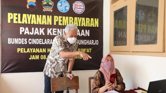 Program Dana Talangan BUMDes Cindelaras Grobogan Diapresiasi Gubernur Ganjar Pranowo