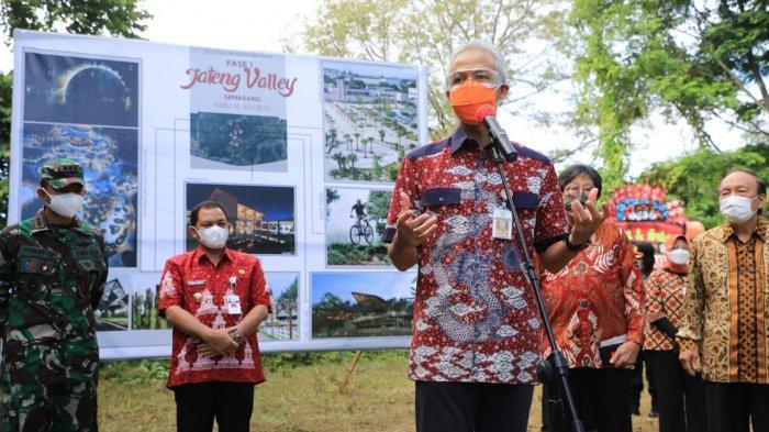 Ganjar Pranowo Lanjutkan Proyek Mangkrak Jateng Valley 2010 di Kabupaten Semarang