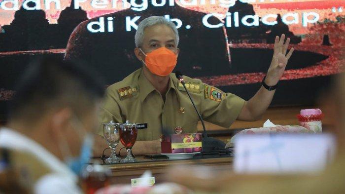 Respons Ganjar Soal Jateng Tertinggi Zona Merah & PSBB Jawa-Bali, Segera Surati Bupati & Wali Kota