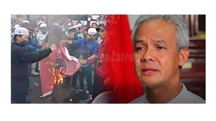 Pesan Ganjar Pranowo ke Pembakar Bendera PDI Perjuangan: Maaf ya, Kami Orang Beragama juga Anti PKI!
