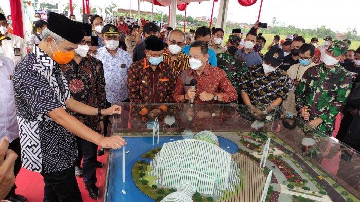 Ini Penampakan Masjid Agung Purwokerto Desain Ridwan Kamil, Groundbreaking Diresmikan Ganjar