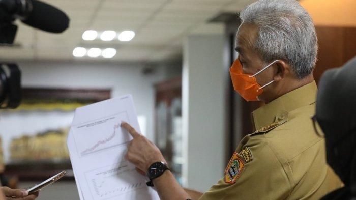 Daftar 11 Zona Merah di Jateng, Ganjar Diberi Warning Presiden