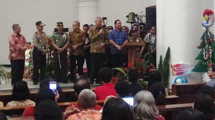 Ini Tanggapan Romo Gereja Katedral Semarang Atas Kedatangan Para Pejabat Daerah