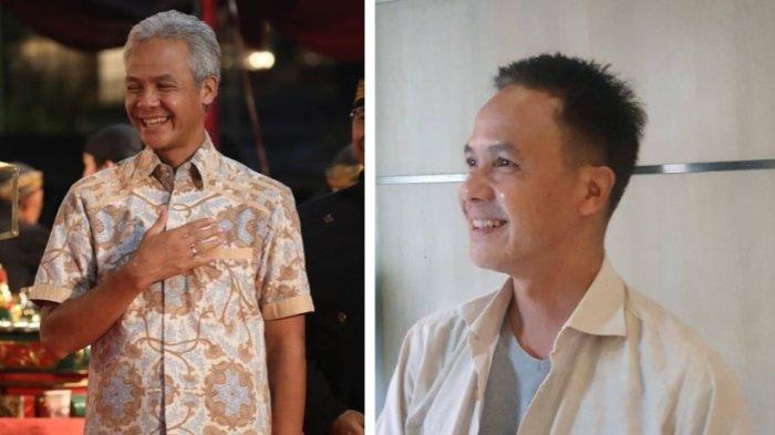 Ganjar Pranowo Unggah Foto Berambut Hitam, Netizen: Mirip Baim Wong