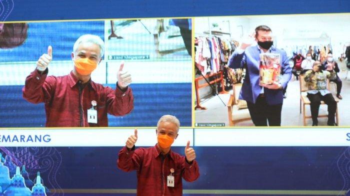Jateng Genjot Promosi UMKM Jawa Tengah di Singapura