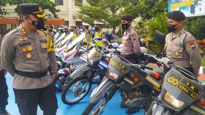 Patroli Diintensifkan Polres Karanganyar, Antisipasi Balap Liar Selama Ramadan