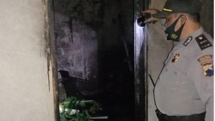 Diduga Akibat Korsleting, Sebuah Rumah di Kutasari Purbalingga Ludes Terbakar