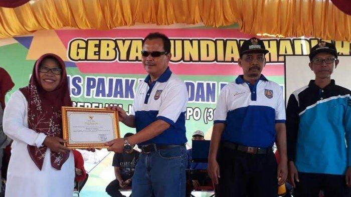 66 Desa di Kabupaten Tegal Lunas PBB Sebelum Jatuh Tempo