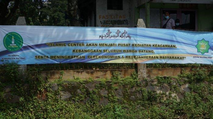 Pembangunan Gedung Islamic Center Batang Ditargetkan Mulai Juli 2021