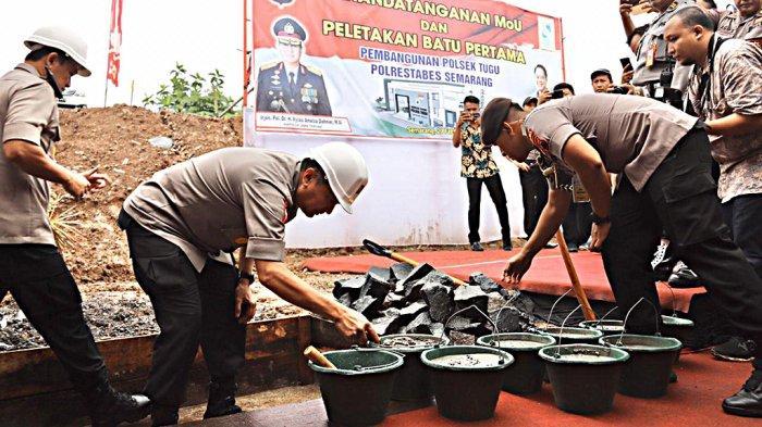Bangunan Kantor Polsek Tugu Semarang Rampung Tahun Depan, Irjen Pol Rycko: Kita Dirikan 3 Lantai