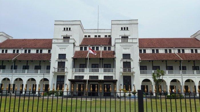 Jadi Destinasi Baru, Ini Sejarah Gedung Birao atau Lawang Satus di Tegal, Disebut Adik Lawang Sewu