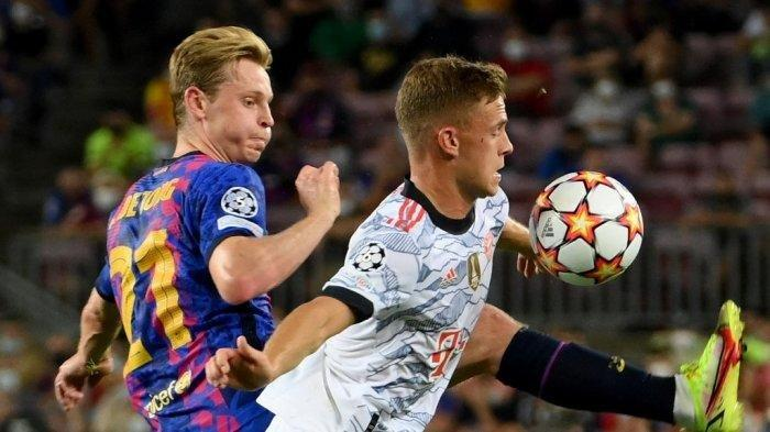 Babak Pertama Muller Buat Barca Merana, Ini Link Live Streaming Barcelona vs Bayern Muenchen