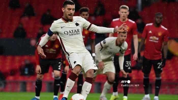 Bermain Bagus Playmaker AS Roma Lorenzo Pellegrini Diincar Barcelona, Begini Respons Jose Mourinho