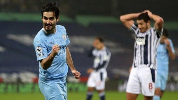 Hasil Liga Inggris Tadi Malam West Bromwich Albion Vs Manchester City, The Citizens Pesta 5 Gol