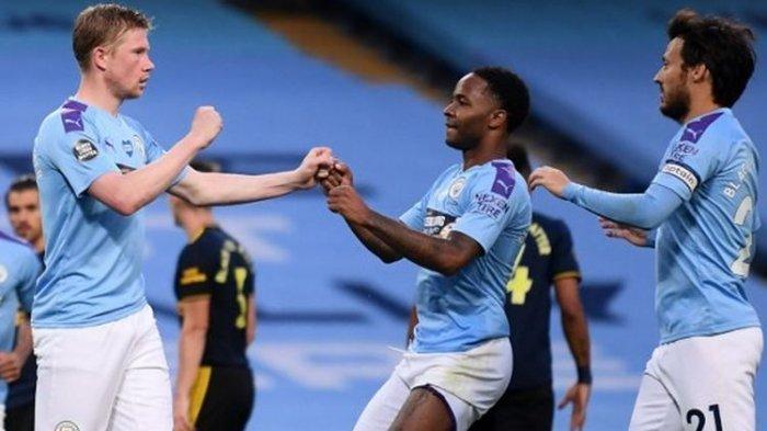 Sedang Berlangsung Skor 0-0 Ini Link Live Streaming Manchester City Vs Lyon Liga Champion