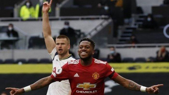 Hasil Liga Inggris Tottenham Hotspur Vs Manchester United, MU Comeback dan Pertahankan Rekor Tandang