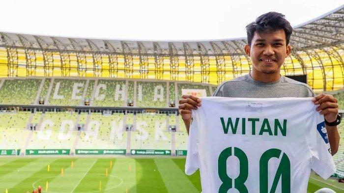 Lechia Gdansk Soroti Permainan Witan Sulaiman Bersama Timnas Indonesia