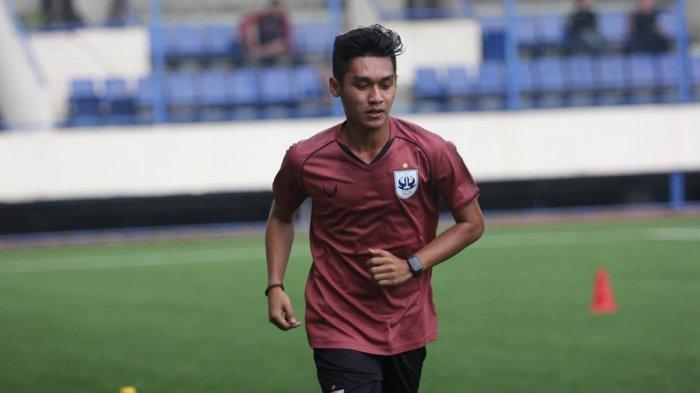 Apa Beda LatihanPSIS di Stadion Citarum Semarang dengan di Magelang? Ini KataSeptian David Maulana