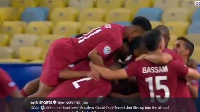 Paraguay vs Qatar: Gol Cantik Juara Asia Batal Kalah di Copa America 2019
