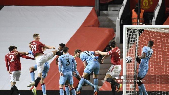 Hasil Liga Inggris Manchester United vs West Ham: Menang Berkat Gol Bunuh Diri