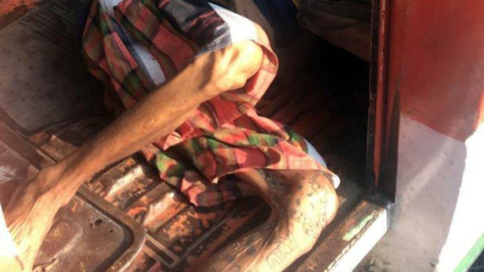 Gelandangan Sakit TBC Meninggal dalam Angkot Mangkrak di Semarang Barat