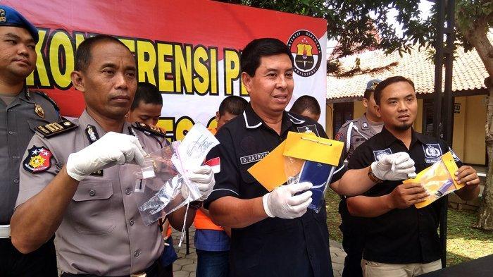 Polres Sragen Merangkum Tiga Kasus Peredaran Ganja dan Sabu Selama Bulan November 2019
