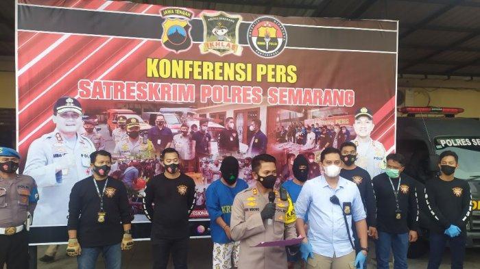 Gelar perkara kasus spesialis pencurian mobil boks di Mapolres Semarang, Selasa (1/12/2020).