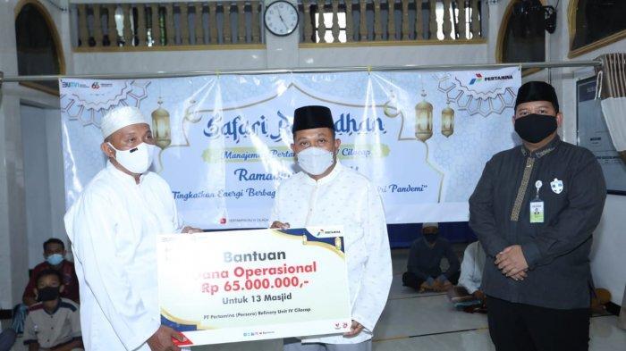 Gelar Safari Ramadhan, GM Pertamina RU IV Cilacap: Doakan Operasional Kilang Tetap Aman & Lancar