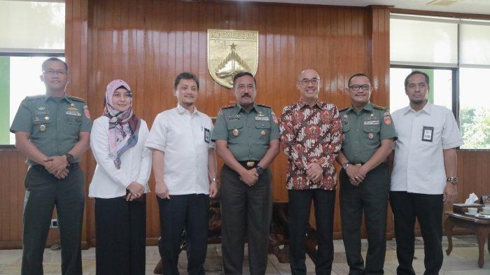 Tingkatkan Sinergi dengan Stakeholder, PLN Sambangi Gubernur Jateng dan Pangdam IV Diponegoro