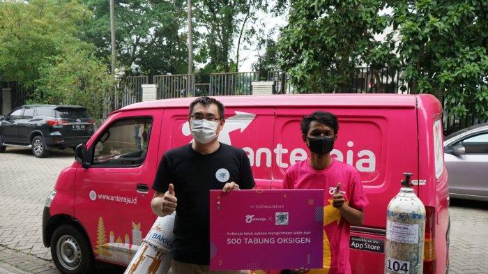 Cerita Relawan Gerakan Tabung Oksigen Bersama Anteraja saat Virus Corona Berada di Puncak