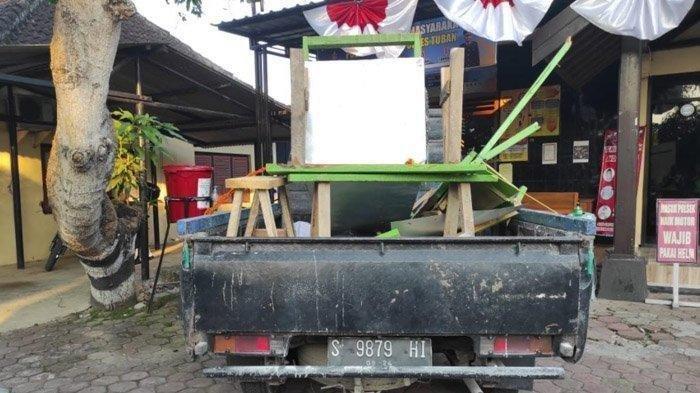 Kecelakaan di Tuban, Gerobak Jatuh dari Pickap Hantam Pengendara Motor hingga Tewas