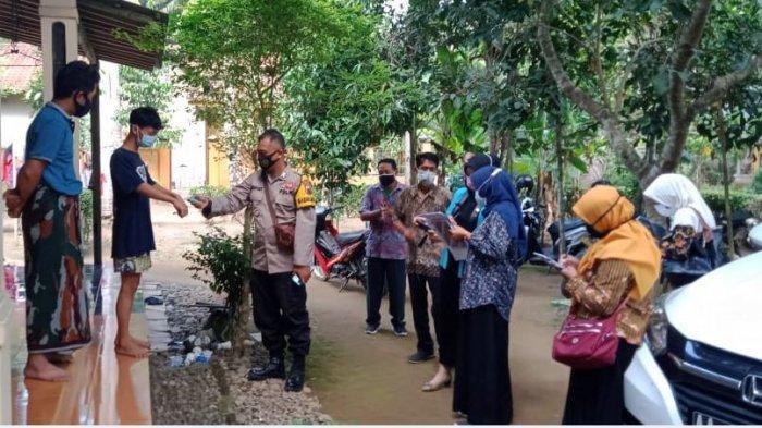 Tekan Penyebaran Covid 19, Polres Kebumen Tracing di Tiga Desa