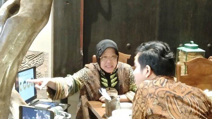Gibran Putra Jokowi Ketemu Wali Kota Surabaya Risma di Solo, Inisiatif Siapa?