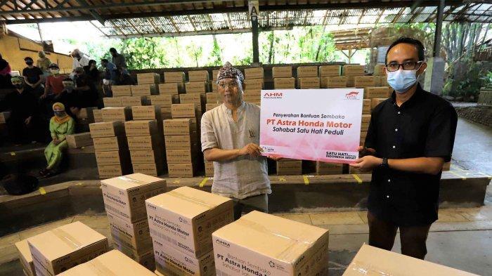 Peduli Pegiat Budaya, AHM Salurkan Bantuan Hadapi Pandemi