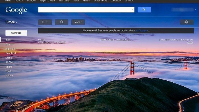 Cara Unggah Foto dari Galeri Jadi Tema Tampilan Gmail