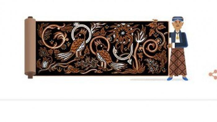 Google Doodle Hari Ini Tampilkan Pelopor Batik Asal Solo K.R.T. Hardjonagoro