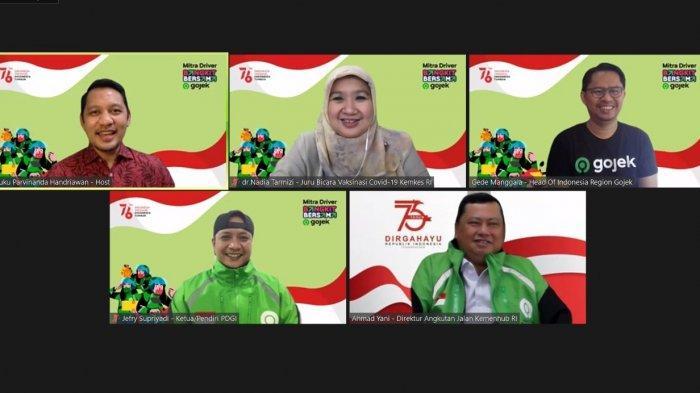 Gojek dan 90 Ribu Mitra Driver Peringati Kemerdekaan Republik Indonesia
