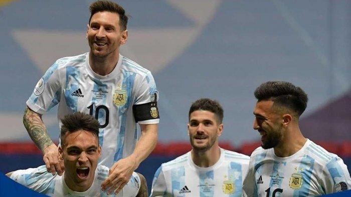 Copa America 2021: Menang Adu Penalti, Argentina Tantang Brasil di Final, Eks Kiper Arsenal Pahlawan