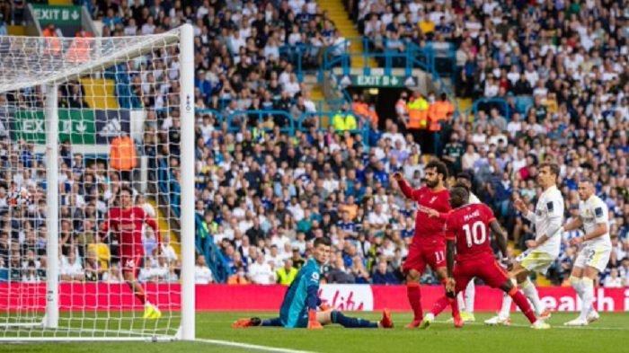 Hasil Liga Inggris Pekan Ini : Tekel Horor Bek Leeds ke Wonderkid Liverpool, The Reds Pesta Gol