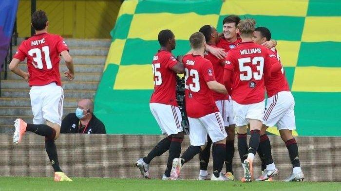 Hasil Piala FA, Susah Payah AkhirnyaManchester United Lolos Ke Semifinal